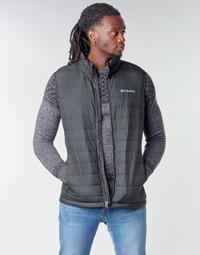 Ruhák Férfi Steppelt kabátok Columbia POWDER LITE VEST Fekete