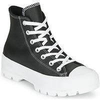 Cipők Női Magas szárú edzőcipők Converse CHUCK TAYLOR ALL STAR LUGGED - FOUNDATIONAL LEATHER Fekete
