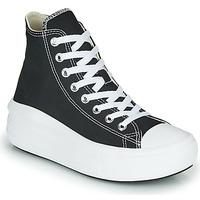 Cipők Női Magas szárú edzőcipők Converse Chuck Taylor All Star Move Canvas Color Hi Fekete