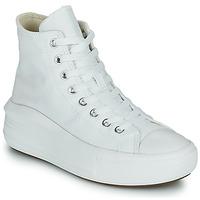 Cipők Női Magas szárú edzőcipők Converse Chuck Taylor All Star Move Canvas Color Hi Fehér
