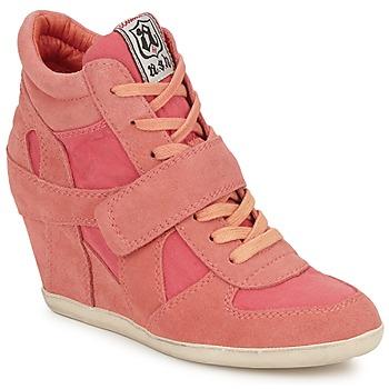 Cipők Női Magas szárú edzőcipők Ash BOWIE Rózsaszín / Pasztell