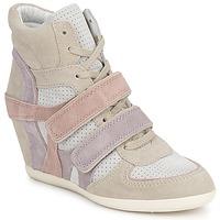 Shoes Női Magas szárú edzőcipők Ash BIXI Rózsaszín / Lila / Szürke