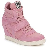 Shoes Női Magas szárú edzőcipők Ash COOL Rózsaszín