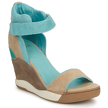 Cipők Női Szandálok / Saruk Ash HELOISE Barna / Kék