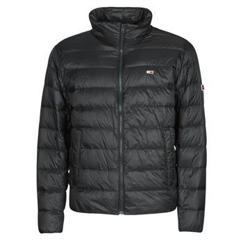 Ruhák Férfi Steppelt kabátok Tommy Jeans TJM PACKABLE LIGHT DOWN JACKET Fekete
