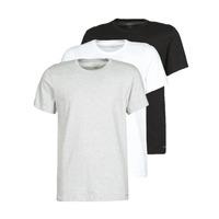 Ruhák Férfi Rövid ujjú pólók Calvin Klein Jeans CREW NECK 3PACK Szürke / Fekete  / Fehér