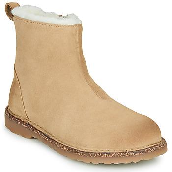 Cipők Női Csizmák Birkenstock MELROSE SHEARLING Bézs