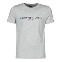 Ruhák Férfi Rövid ujjú pólók Tommy Hilfiger TOMMY LOGO TEE Szürke