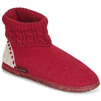 Cipők Női Mamuszok Giesswein FREIBURG Piros