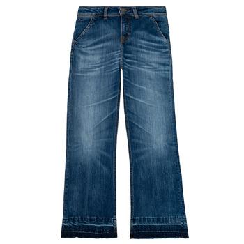 Ruhák Lány Egyenes szárú farmerek Tommy Hilfiger KG0KG05199-1BJ Kék