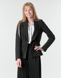 Ruhák Női Kabátok / Blézerek Morgan VETINI Fekete