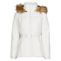 Ruhák Női Steppelt kabátok Morgan GORAL Messze / Fehér