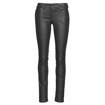 Ruhák Női Slim farmerek Pepe jeans NEW BROOKE Fekete