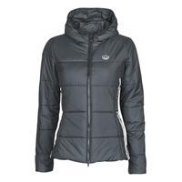Ruhák Női Steppelt kabátok adidas Originals SLIM JACKET Fekete