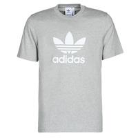 Ruhák Férfi Rövid ujjú pólók adidas Originals TREFOIL T-SHIRT Hanga / Szürke / Átlagos