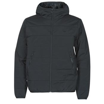 Ruhák Férfi Steppelt kabátok adidas Originals LW ZT TRF HOODY Fekete