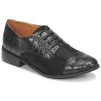 Cipők Női Oxford cipők Moony Mood NOULESSE Fekete