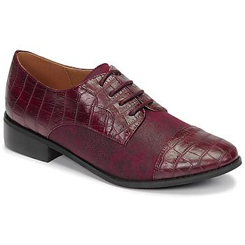 Cipők Női Oxford cipők Moony Mood NOULESSE Bordó