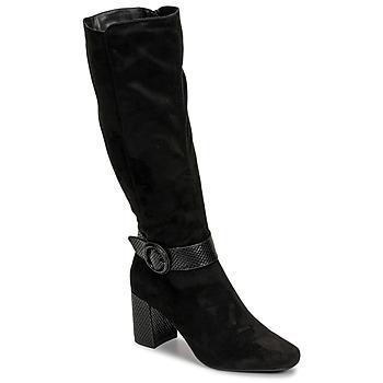 Cipők Női Városi csizmák Moony Mood NISTI Fekete