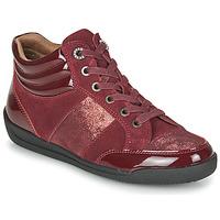 Cipők Női Magas szárú edzőcipők Damart 57079 Bordó