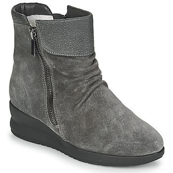 Cipők Női Csizmák Damart 64305 Szürke