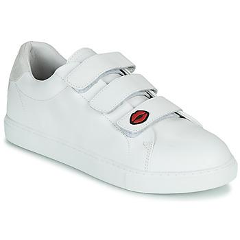 Cipők Női Rövid szárú edzőcipők Bons baisers de Paname EDITH LEGENDE Fehér