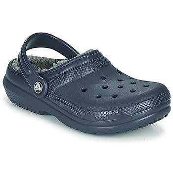 Cipők Gyerek Klumpák Crocs CLASSIC LINED CLOG K Kék