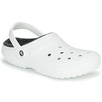 Cipők Klumpák Crocs CLASSIC LINED CLOG Fehér