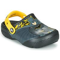 Cipők Fiú Klumpák Crocs CROCS FL ICONIC BATMAN CLOG Fekete / Citromsárga