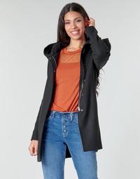 Ruhák Női Kabátok Moony Mood NANTE Fekete