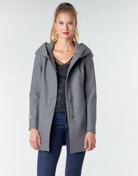 Ruhák Női Kabátok Moony Mood NANTE Szürke / Sötét
