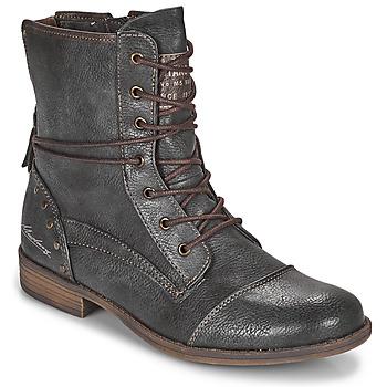 Cipők Női Csizmák Mustang 1157508 Szürke
