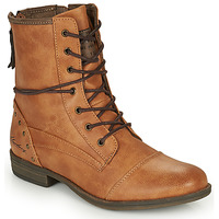 Cipők Női Csizmák Mustang 1157508 Teve