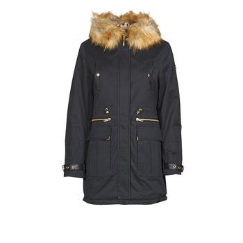 Ruhák Női Parka kabátok Kaporal LOFTY Fekete