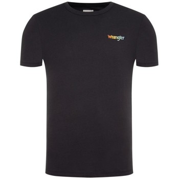 Ruhák Férfi Pólók / Galléros Pólók Wrangler T-shirt  Good times bleu