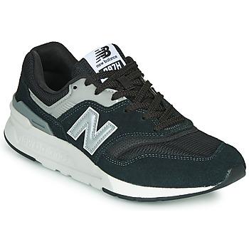 Cipők Férfi Rövid szárú edzőcipők New Balance 997 Fekete / Ezüst