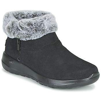 Cipők Női Csizmák Skechers ON-THE-GO JOY Fekete