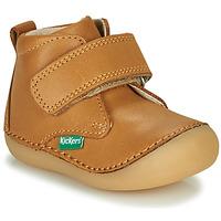 Cipők Gyerek Csizmák Kickers SABIO Teve