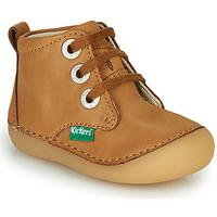 Cipők Gyerek Csizmák Kickers SONIZA Teve