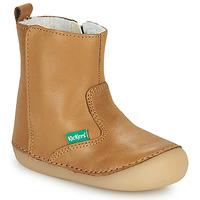 Cipők Lány Csizmák Kickers SOCOOL CHO Teve