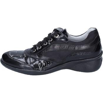 Cipők Lány Rövid szárú edzőcipők 1A Classe Alviero Martini BM356 Fekete