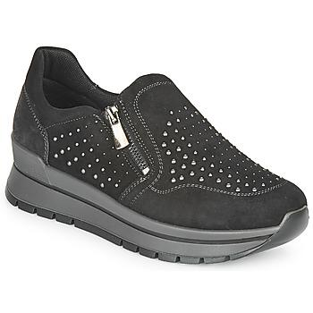 Cipők Női Rövid szárú edzőcipők IgI&CO DONNA ANISIA Fekete