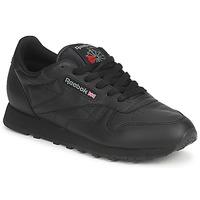 Cipők Rövid szárú edzőcipők Reebok Classic CLASSIC LEATHER Fekete