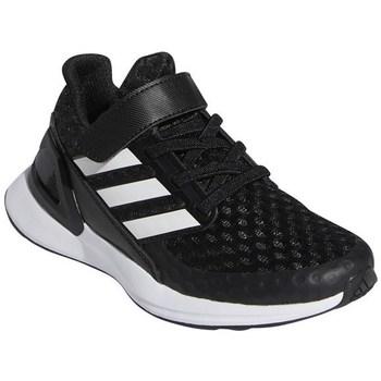 Cipők Gyerek Futócipők adidas Originals Rapidarun Białe,Czarne