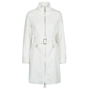 Ruhák Női Kabátok Marciano MARBREE FUR COAT Krém
