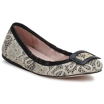 Cipők Női Balerina cipők / babák Fornarina LYZA Fekete / Szövet / Wo's / Cipő
