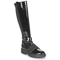 Cipők Női Csizmák Philippe Morvan DARMY V1 VERNIS NOIR Fekete