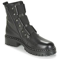 Cipők Női Csizmák Philippe Morvan HARMY V1 ROMA NOIR Fekete
