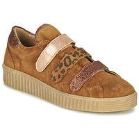 Cipők Női Rövid szárú edzőcipők Philippe Morvan ZEUS2 V1 SILKY CAMEL Barna