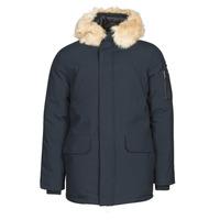 Ruhák Férfi Parka kabátok Schott NELSON20 Tengerész